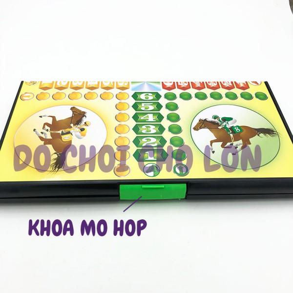 Bộ đồ chơi bàn cờ Cá Ngựa LỚN bằng nhựa SIZE 44 x 43 cm
