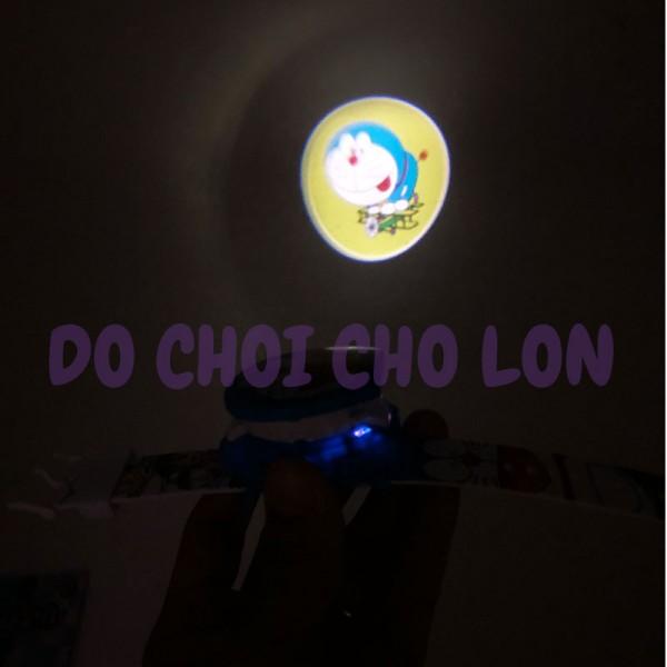 Đồng hồ DORAEMON BẬT NẮP chiếu hình ảnh lên tường WLT28L