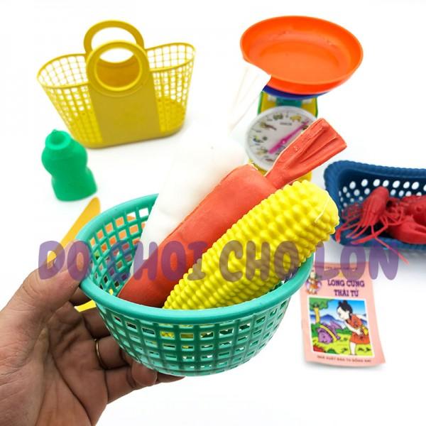 Bộ đồ chơi GIỎ trái cây & cân đồng hồ bằng nhựa Đại Phát