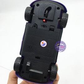 Hộp đồ chơi xe hơi cảnh sát điều khiển từ xa 2 kênh chạy pin