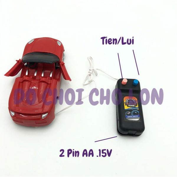 Vỉ đồ chơi xe mui trần điều khiển 2 kênh có dây MODERN 00013A