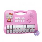 Đàn chơi đàn organ Hello Kitty nút bướm dùng pin nhạc đèn