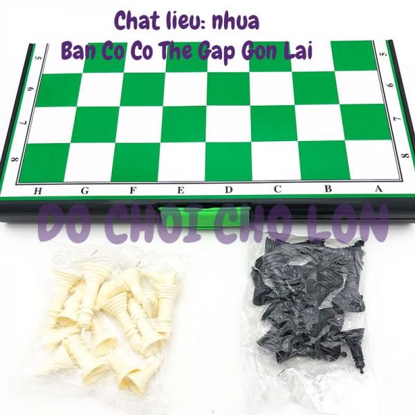 Đồ chơi bàn cờ VUA QUỐC TẾ LỚN bằng nhựa SIZE 44 x 43 cm