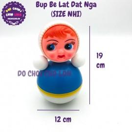 Đồ chơi búp bê lật đật Nga Size Nhí  bằng nhựa 19x12 cm