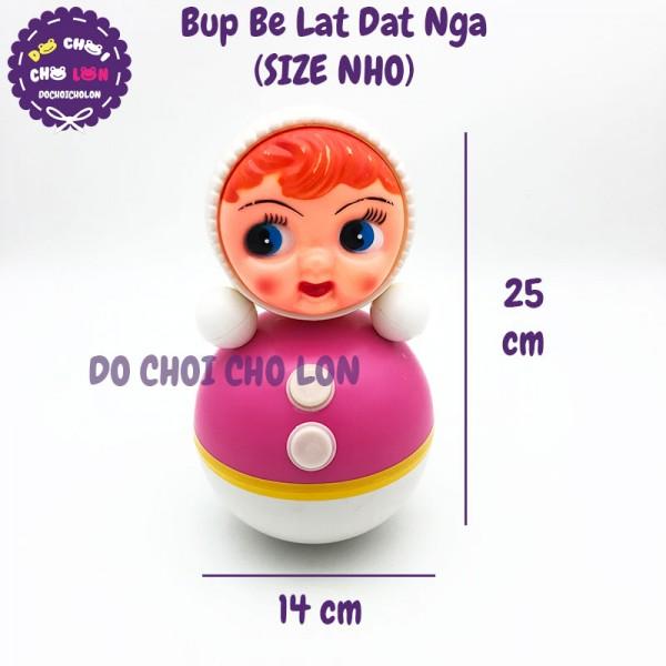 Đồ chơi búp bê lật đật Nga Size Nhỏ bằng nhựa 25x14 cm