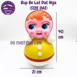 Đồ chơi búp bê lật đật Nga Size Đại bằng nhựa 40x21 cm