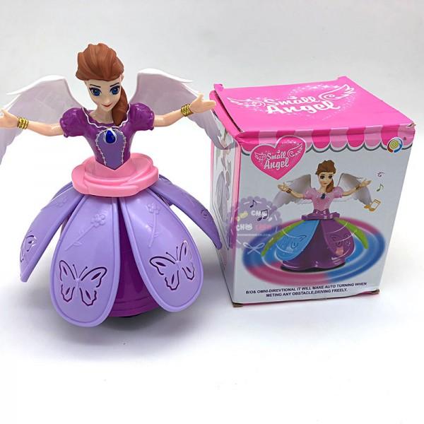 Đồ chơi công chúa Disney cánh đầm nhựa xòe có đèn nhạc 127