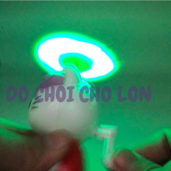 Đồ chơi quạt đèn Kitty 2 cánh quay tay DY08B-11