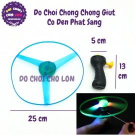 Đồ chơi chong chóng giựt có đèn phát sáng đường kính 25 cm