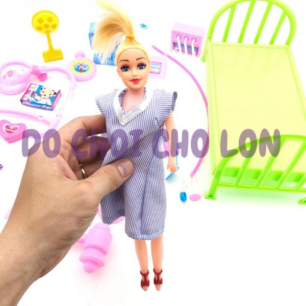 Đồ chơi bé tập làm bác sĩ 26 món y tế bằng nhựa HT3919
