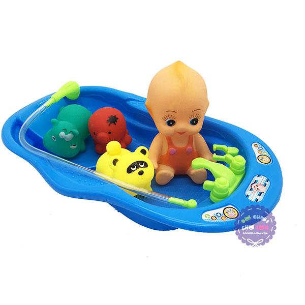 Bộ đồ chơi bồn tắm cho em bé Happy Paddle