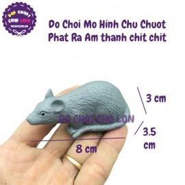 Đồ chơi mô hình con chuột phát ra âm thanh chít chít 037-68