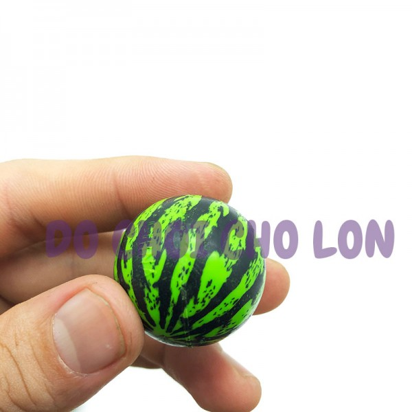 Đồ chơi banh tưng bằng cao su cứng đường kính 3 cm (1 Quả)