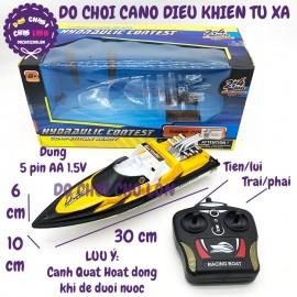 Hộp đồ chơi tàu thuyền cano điều khiển từ xa chạy dưới nước HD-14