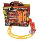 Hộp đồ chơi đường ray xe lửa tàu hỏa Cars chạy pin