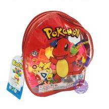 Ba lô Pokemon chứa xếp hình bằng nhựa Blocks