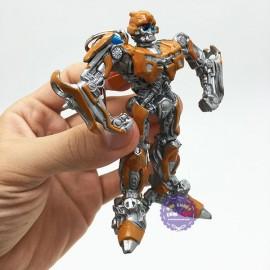 Vỉ đồ chơi móc khóa robot biến hình Transformer Bumble Bee