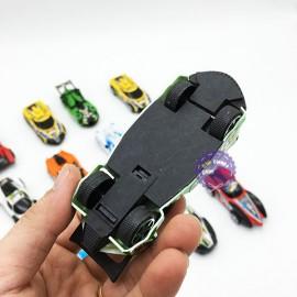 Vỉ đồ chơi 12 xe đua thể thao bằng nhựa chạy trớn 198-70