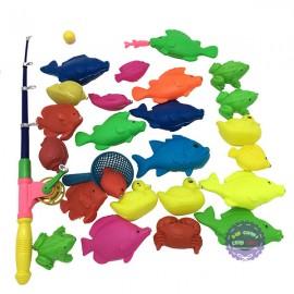 Bộ đồ chơi câu cá nam châm dưới nước 1 cần dài