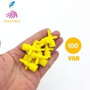 Compo 100 Van nối ngã 3 dây Oxy có khóa tăng giảm hơi loại TỐT