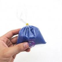 Bịch cát mịn kim tuyến 200 gram màu xanh dương dùng để tô tranh cát