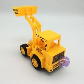 Hộp đồ chơi xe xúc đất chạy pin đèn trái châu có nhạc