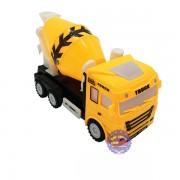 Hộp đồ chơi xe hồ trộn bê tông chạy pin có đèn nhạc