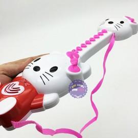 Đồ chơi đàn guitar Mèo Kitty dùng pin có nhạc tiếng Việt