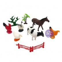 Bộ đồ chơi 6 con thú nuôi trong nhà Farm Animal 2085A