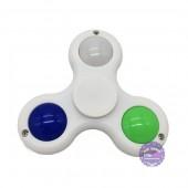 Hộp đồ chơi Hand Spinner 3 cánh đèn 3D bằng nhựa