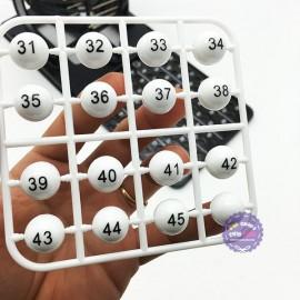 Hộp đồ chơi lồng quay lô tô 75 số Bingo Neo