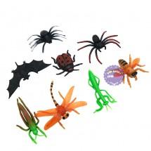Bộ đồ chơi 8 loài côn trùng bằng nhựa Insect World 2092