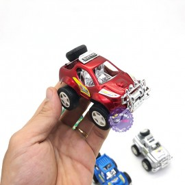 Vỉ đồ chơi xe ô tô địa hình 6 chiếc chạy trớn 2109