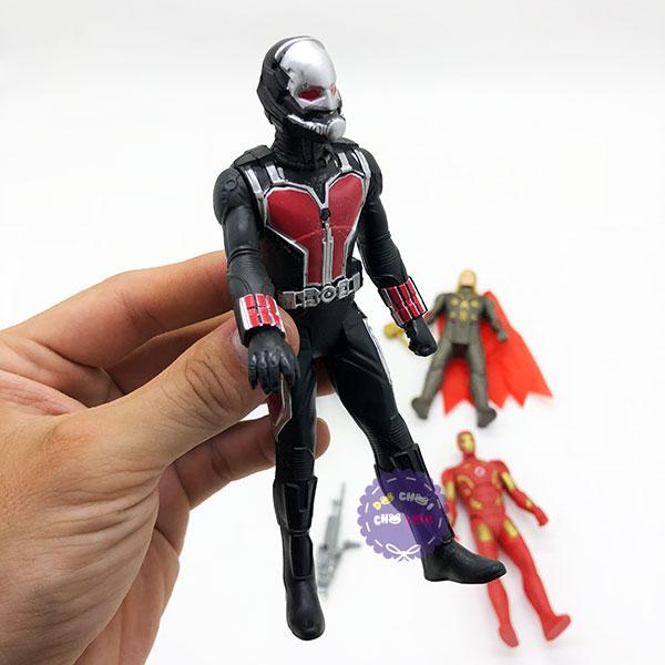 Hộp đồ chơi mô hình 5 siêu anh hùng Avengers 2 có đèn 2125