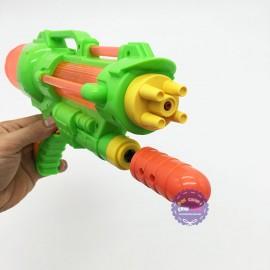 Đồ chơi súng nước áp lực 5 nòng trong suốt