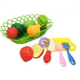 Bộ đồ chơi rổ đựng trái cây cắt Cutting Game bằng nhựa