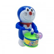 Đồ chơi Doraemon đánh trống vặn cót bằng nhựa
