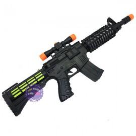 Đồ chơi súng máy ống dòm dùng pin có đèn nhạc 228