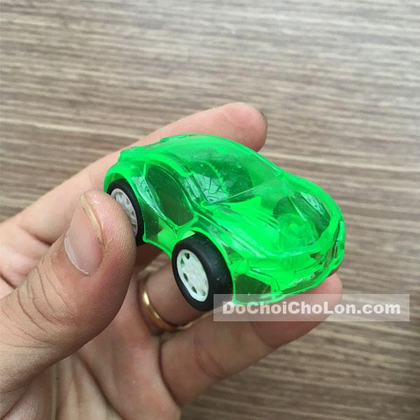 Vỉ đồ chơi 12 xe mini trong suốt Go chạy trớn