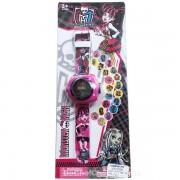 Vỉ đồ chơi đồng hồ Monster High chiếu hình ảnh lên tường