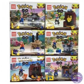 Bộ 6 hộp đồ chơi lắp ráp Pokemon Go