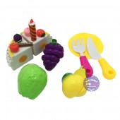 Bộ đồ chơi túi bánh sinh nhật & trái cây cắt