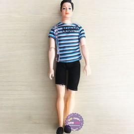 Đồ chơi búp bê nam mặc đồ thể thao 11 khớp nối