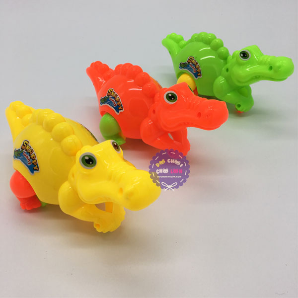 Đồ chơi con cá sấu chạy bằng dây cót