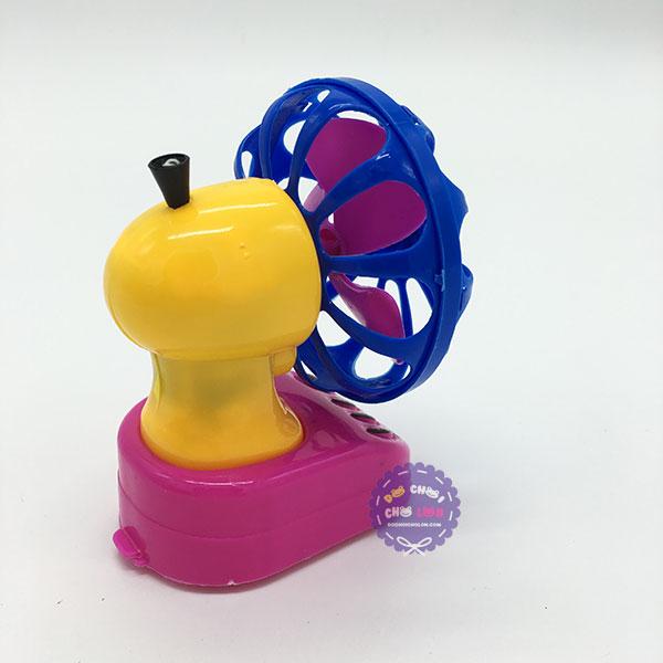 Đồ chơi quạt bàn mini chạy bằng dây cót