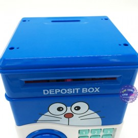 Hộp đồ chơi két sắt mini đựng tiền hình Doraemon