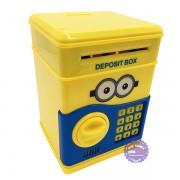 Hộp đồ chơi két sắt mini đựng tiền hình Minion