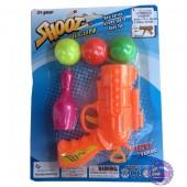 Đồ chơi súng bắn bóng nhựa 3 banh