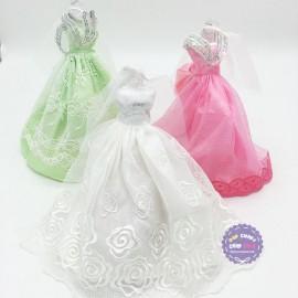 Váy đầm cưới cô dâu cho búp bê