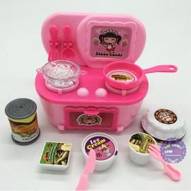 Vỉ đồ chơi nấu bếp dùng pin & bánh sinh nhật